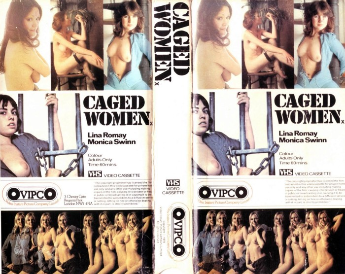 Caged Women UK VHS