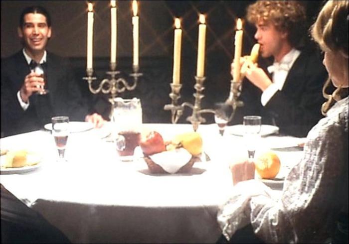 La estupenda secuencia circular de la cena