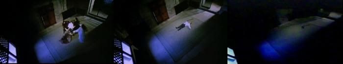 """El momento en el que Vernon desaparece """"por corte"""" desaparece en la versión de Eurociné"""