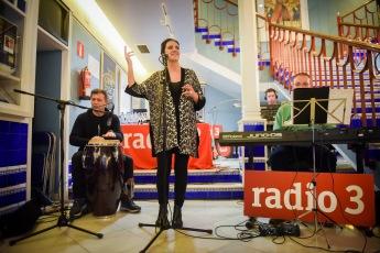 Actuación de May López